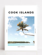 Load image into Gallery viewer, Cook Islands 'South Pacific Paradise' Print
