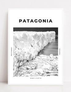 Patagonia 'The Big Blue Glacier' Print
