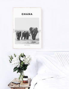 Ghana 'Walk On The Wild Side' Print