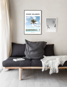 Cook Islands 'South Pacific Paradise' Print