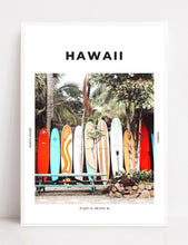 Load image into Gallery viewer, Hawaii 'North Shore Surf' Print