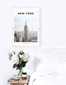 New York 'Concrete Jungle' Print