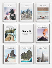 Load image into Gallery viewer, 'Let's Go Everywhere' - Travel Print