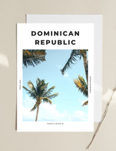 Load image into Gallery viewer, Dominican Republic 'Punta Paradise' Print