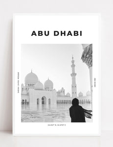 Abu Dhabi 'Peace And Serenity' Print