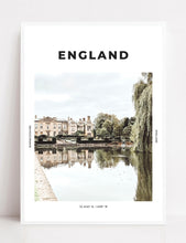 Load image into Gallery viewer, England 'Royal Reflections' Print