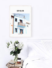 Load image into Gallery viewer, Spain 'Mañana Azul' Print