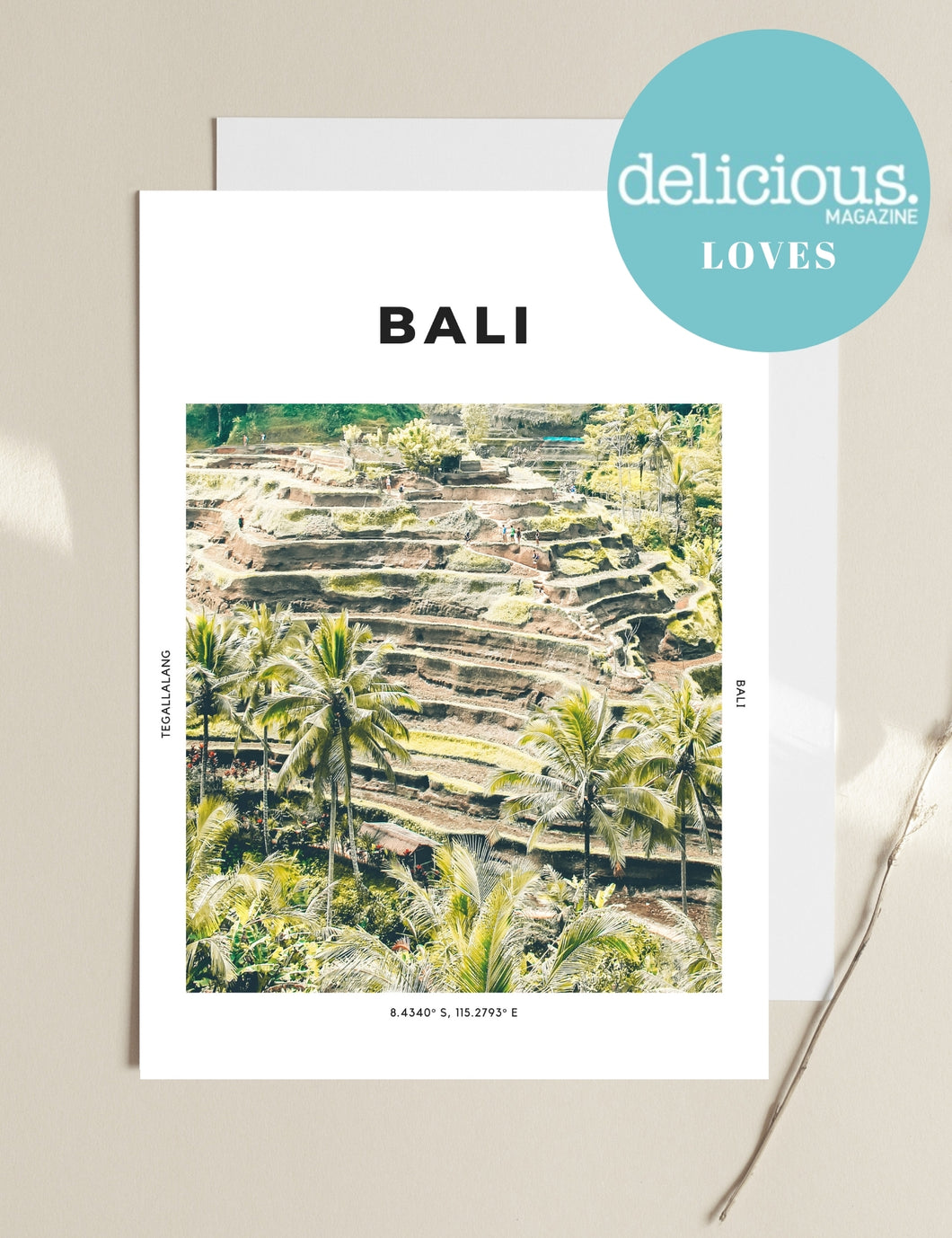 Bali 'Rice Is Nice' Print