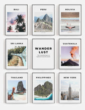 Load image into Gallery viewer, 'Insatiable Wanderlust' - Travel Print
