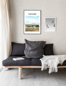 Iceland 'Land Of Fire And Ice' Print