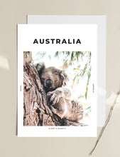 Load image into Gallery viewer, Australia 'Sleepy Koala' Print