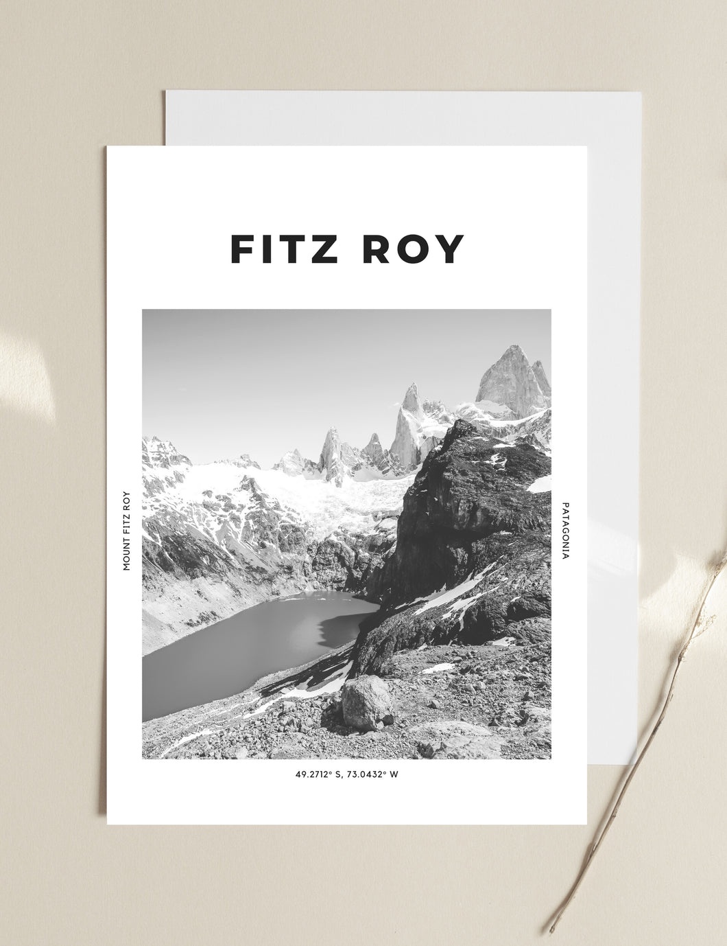 Fitz Roy 'Jewel Of Patagonia' Print