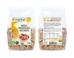 Müesli croustillant aux fruits 375g