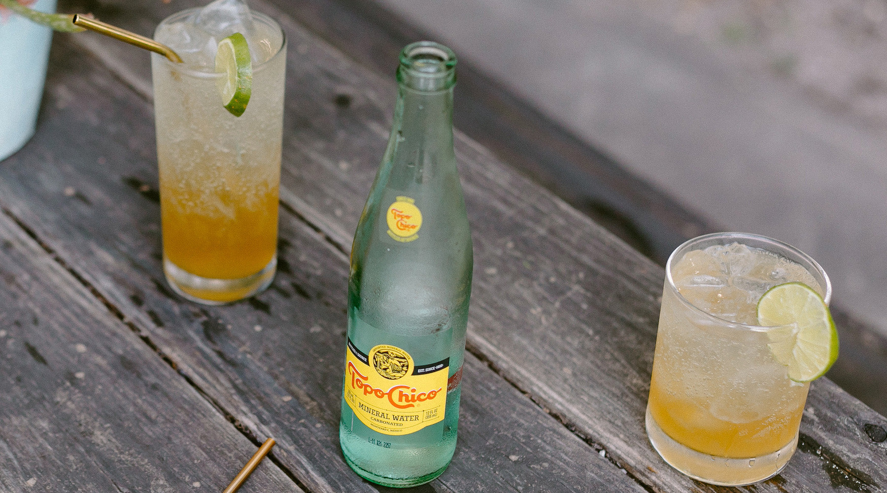 RATIO RECIPES: GOLDEN CITRUS SPRITZER