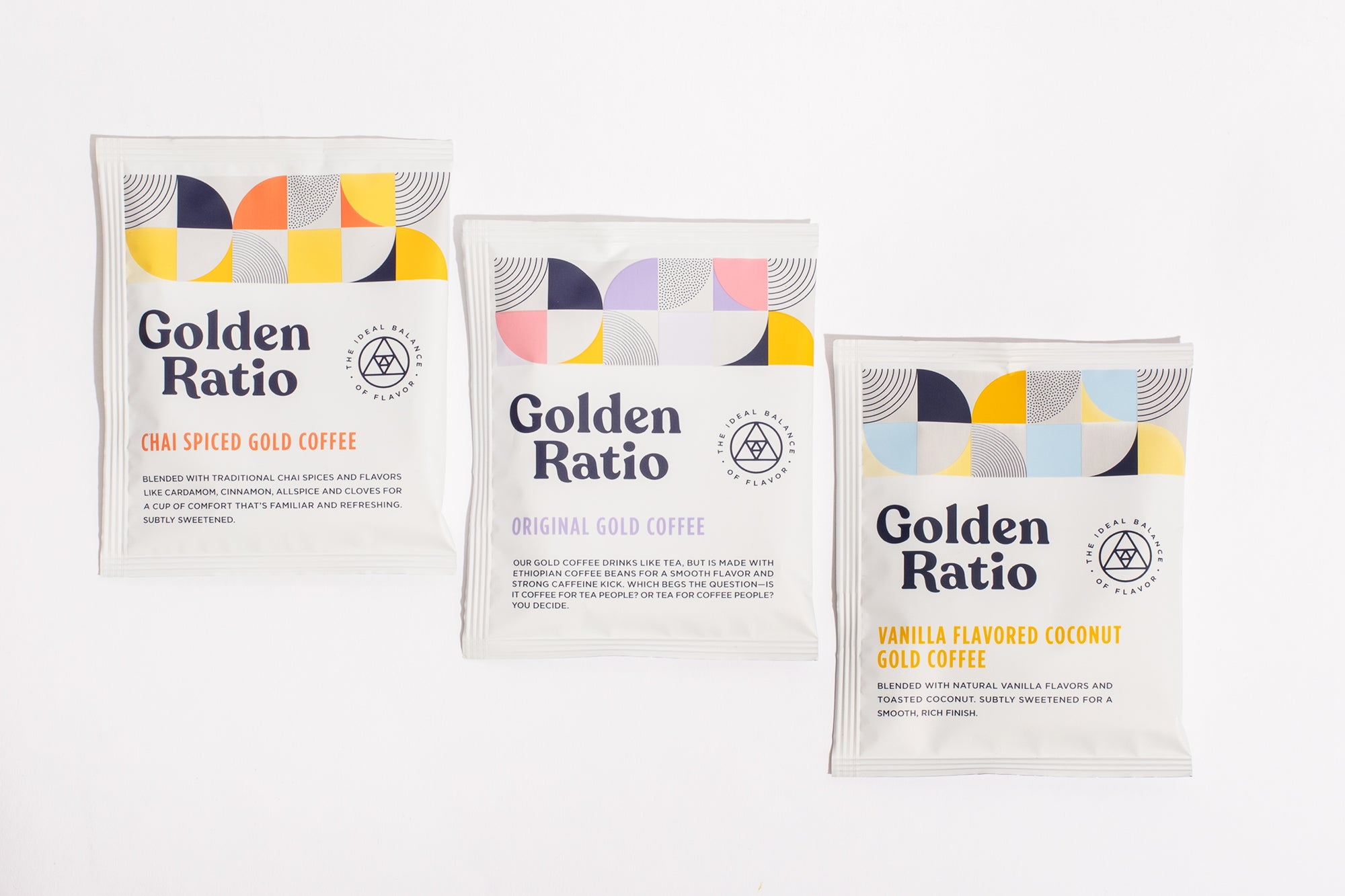Golden Ratio Sampler - 3 Pack