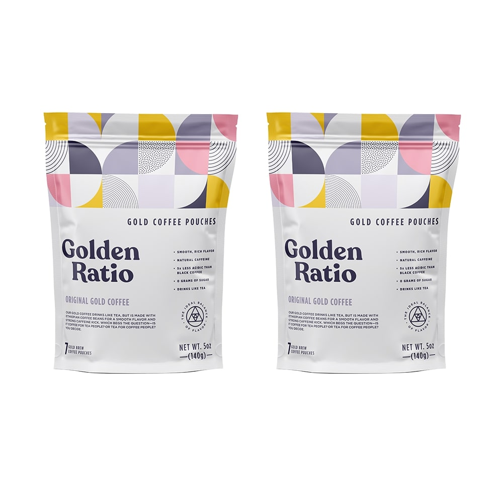 Original Gold Coffee Pouches 15% OFF