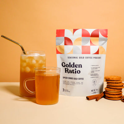 Spiced Cookie Gold Coffee Pouches