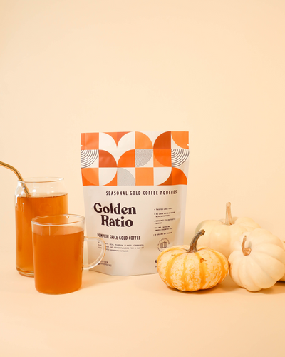 Pumpkin Spice Gold Coffee Pouches