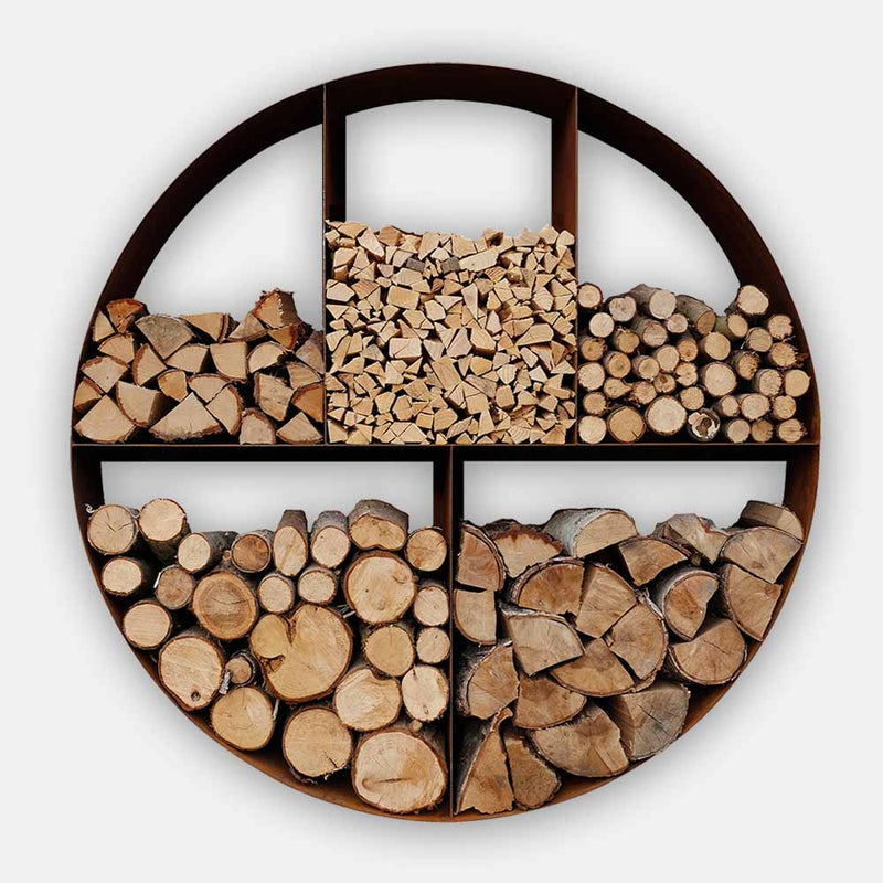 Woodstock Circular Log Store