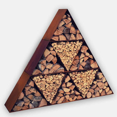 Woodstock Triangles Log Store