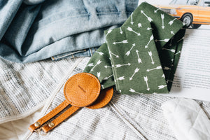 "Fabric Camera Strap ""Arrows"""