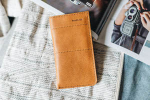 "Leather phone case ""Slick"""