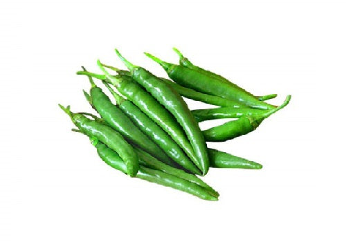Chilly Green (Price per 100 gms) - FAST AND FRESH  GLOBAL LLP