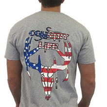 Load image into Gallery viewer, USA Short Sleeve - Grey