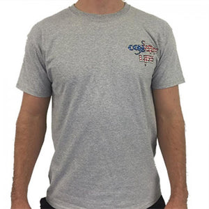 USA Short Sleeve - Grey