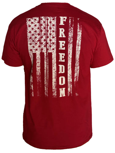 Freedom Flag - Cardinal Red
