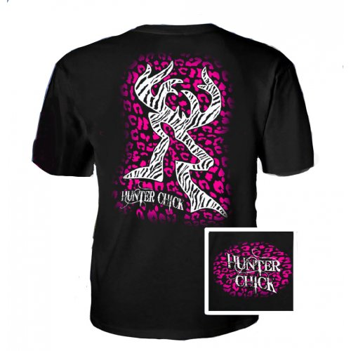 Hunter Chick Cheetah -Blac/Pink