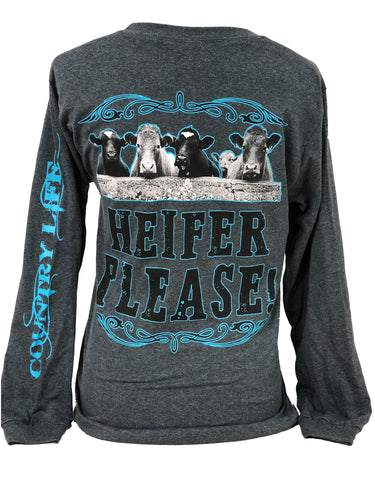 Heifer Please - Gray