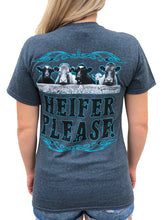 Load image into Gallery viewer, Heifer Please - Gray/Blue