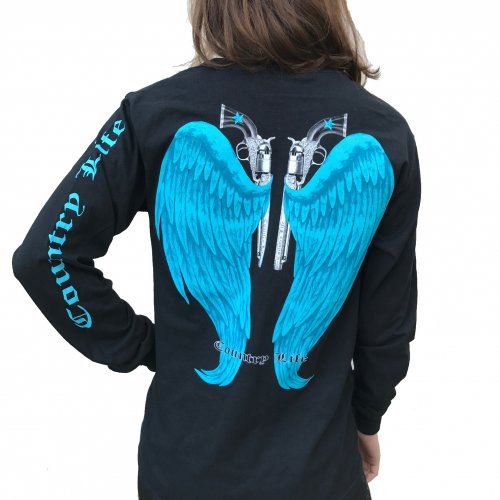 Country Life Wings - Black/Blue