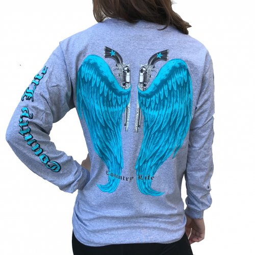 Country Life Wings - Gray/Blue