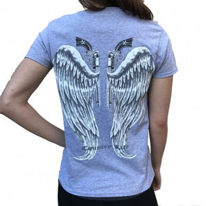 Guns and Wings - Grey/Silver