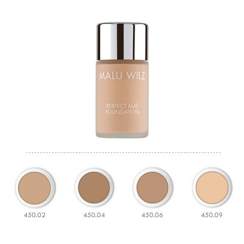 MALU WILZ PERFECT MATT FOUNDATION 04