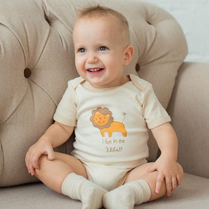 Eotton Organic Cotton Short Sleeve Bodysuits | Soft Onesies