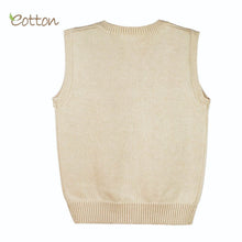 Load image into Gallery viewer, Finest Organic Cotton Baby Cableknit Vest