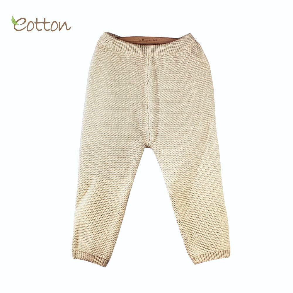 Super Soft Organic Cotton Cableknit Trouser