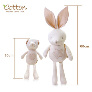 cute baby soft toy rabbit & bear