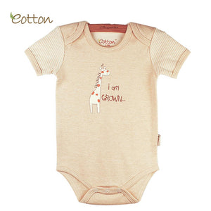 Short sleeve bodysuit Clothing eotton Giraffe Newborn 00