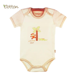 Short sleeve bodysuit Clothing eotton Monkey Newborn 00