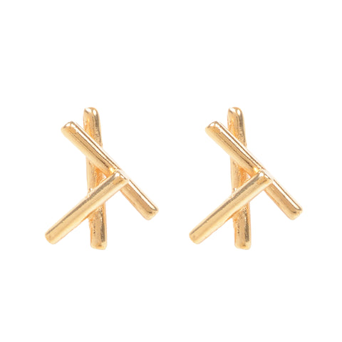 Sticks Stud Earring
