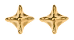 Small Pagoda Pyramid Stud Earring