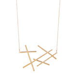 Large Sticks Necklace