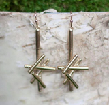 Long Sticks Dangle Earring