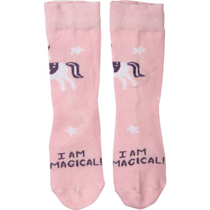 I am Magical Kids Socks