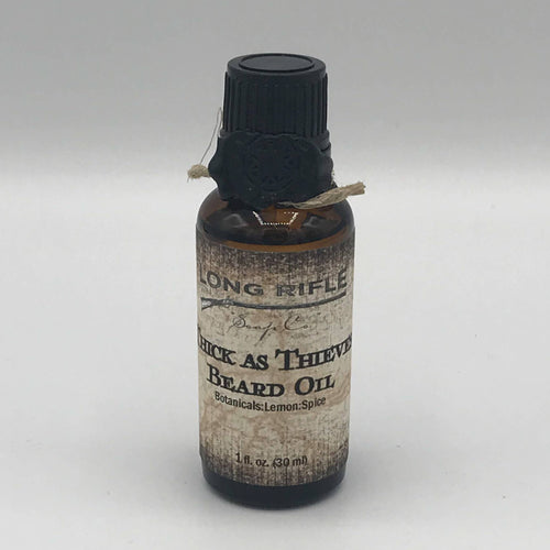 Men's Beard Oil- Thick as Thieves