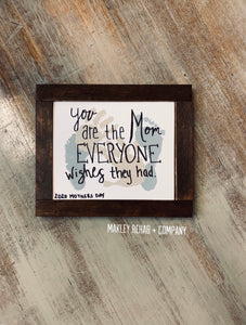 Mother's Day Framed Art Kit